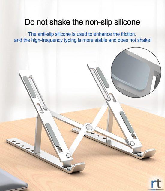 Adjustable Aluminum Ergonomic Laptop Stand