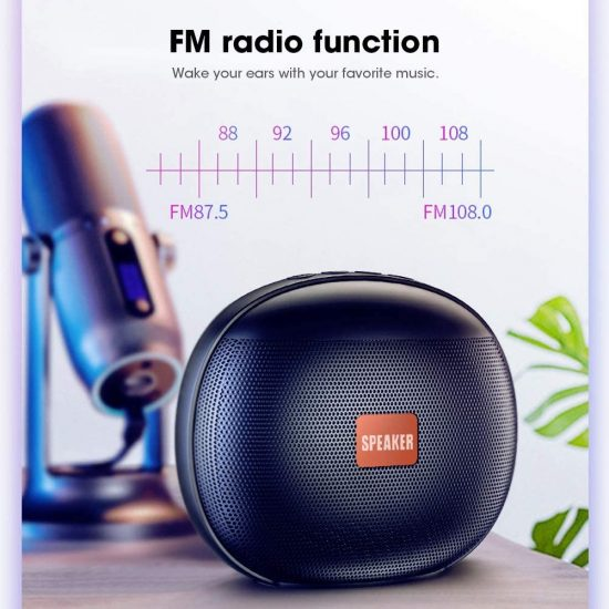T11 Wireless Bluetooth Speaker with USB & FM Radio