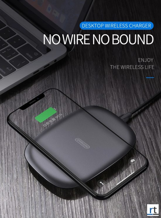 JOYROOM JR-A12  5W Fast Charging Qi Wireless Charger