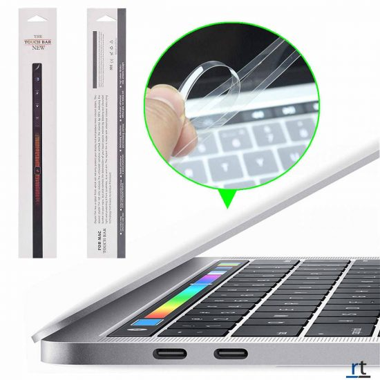 touch bar protector guard for macbook air and pro