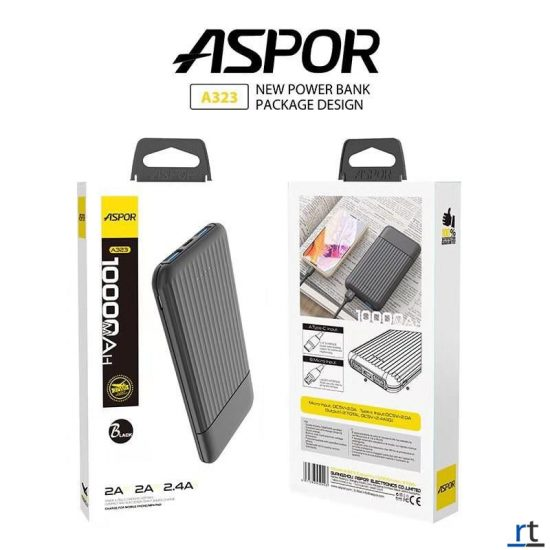 aspor fast charging power bank