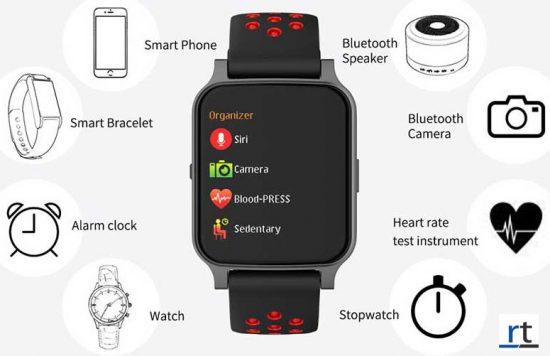 TZ7 Waterproof Smart Watch