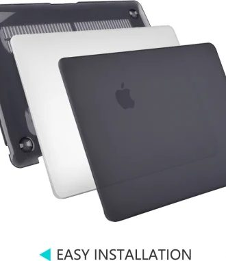 macbook black case hard shield