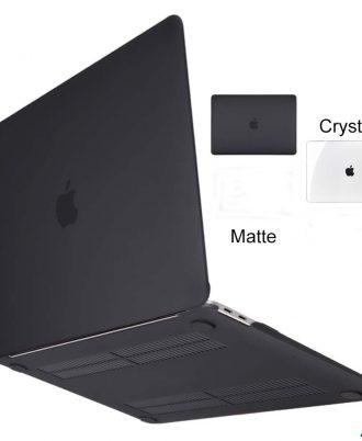 macbook matte black case hard shield cover