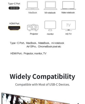 type c to hdmi cable for gaming
